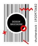 geometric cover design.... | Shutterstock .eps vector #1920973682