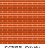 Red Brick Background Texture....
