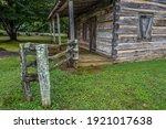Abandoned Old Pioneer Log Cabin ...