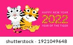 happy chinese new year greeting ... | Shutterstock .eps vector #1921049648