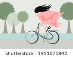 abstract cartoon character of a ... | Shutterstock .eps vector #1921071842