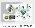 business concept for internet... | Shutterstock .eps vector #1921077458