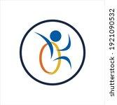 disability logo vector...   Shutterstock .eps vector #1921090532