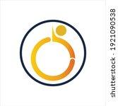 disability logo vector...   Shutterstock .eps vector #1921090538