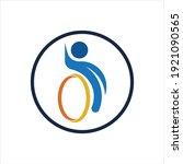disability logo vector...   Shutterstock .eps vector #1921090565