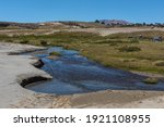mountain and river landscape...   Shutterstock . vector #1921108955