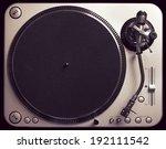 old good looking turntable... | Shutterstock . vector #192111542