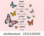 Monarch Butterfliesdaisies...