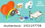 3d isometric flat vector... | Shutterstock .eps vector #1921197758