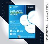 corporate flyer business...   Shutterstock .eps vector #1921364498