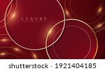 elegant abstract red background ...   Shutterstock .eps vector #1921404185