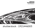 vector illustration of brush... | Shutterstock .eps vector #1921446005