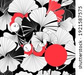beautiful graphic patterns are... | Shutterstock . vector #1921587575