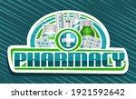 vector banner for pharmacy ... | Shutterstock .eps vector #1921592642