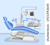 vector poster for dental clinic ... | Shutterstock .eps vector #1921592645