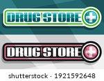 vector banners for drug store ... | Shutterstock .eps vector #1921592648