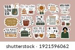 collection of funny... | Shutterstock .eps vector #1921596062