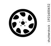 wheel disks icon  logo isolated ...   Shutterstock .eps vector #1921600652