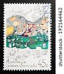 australia   circa 1992 a...   Shutterstock . vector #192164462