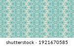 ikat geometric folklore... | Shutterstock .eps vector #1921670585