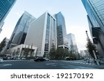 tokyo   nov 11   traffic at an... | Shutterstock . vector #192170192