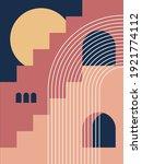 modern poster art. abstract... | Shutterstock .eps vector #1921774112