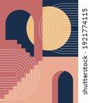 modern poster art. abstract... | Shutterstock .eps vector #1921774115