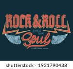 fearless rock and roll brand...   Shutterstock .eps vector #1921790438
