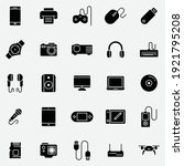 gadget and device set icon... | Shutterstock .eps vector #1921795208