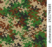 camouflage wave pattern... | Shutterstock . vector #1921798385
