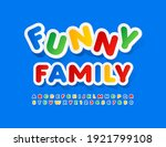 vector colorful sign funny... | Shutterstock .eps vector #1921799108