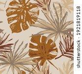 hand drawn grunge textured... | Shutterstock .eps vector #1921819118