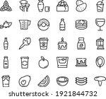 food line icon set   milk...   Shutterstock .eps vector #1921844732