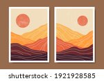 abstract contemporary mid... | Shutterstock .eps vector #1921928585