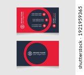 red vector modern abstract... | Shutterstock .eps vector #1921959365