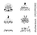 collection of lovely hand drawn ... | Shutterstock .eps vector #1921992302