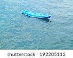 blue kayak  | Shutterstock . vector #192205112