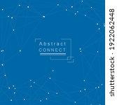 network dots in line art style. ...   Shutterstock .eps vector #1922062448