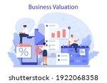 business valuation concept.... | Shutterstock .eps vector #1922068358