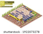 vector isometric furniture ...   Shutterstock .eps vector #1922073278