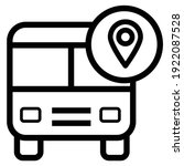 bus icon  bus icon vector...   Shutterstock .eps vector #1922087528