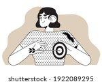 target market  group or... | Shutterstock .eps vector #1922089295