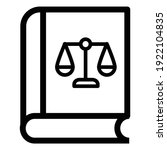 vector icon  legal judge ...   Shutterstock .eps vector #1922104835