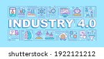 industry 4.0 word concepts...