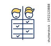 work division for men and women ...   Shutterstock .eps vector #1922123888