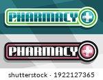vector banners for pharmacy ... | Shutterstock .eps vector #1922127365