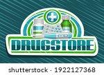 vector banner for drugstore ... | Shutterstock .eps vector #1922127368