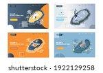 island of industrial internet... | Shutterstock .eps vector #1922129258