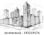 megacity   Shutterstock . vector #192219176