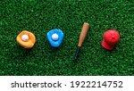 A Miniature Toy Baseball...